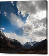 Ray Of The Sky Canvas Print