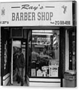 Ray's Barbershop Canvas Print