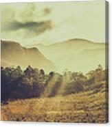 Rays Of Dusk Canvas Print
