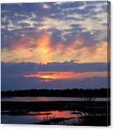 Rays Of Glory Canvas Print