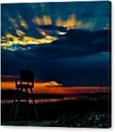 Rays Of Sunshine Canvas Print