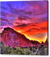 Rays Of The Gods Canvas Print