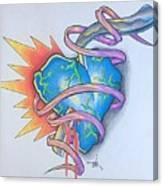 Razors Edge Canvas Print
