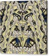 Rca Lyra Pattern Canvas Print