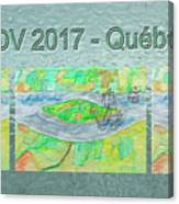 Rdv 2017 Quebec Mug Shot Canvas Print