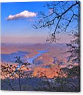 Reaching For A Cloud Canvas Print