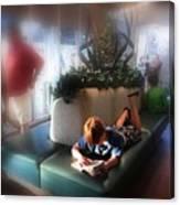 Read Anywhere Canvas Print