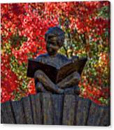 Reading Boy - Santa Fe Canvas Print