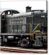 Reading Rr Engine 467 Canvas Print