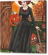 Ready For Halloween Canvas Print