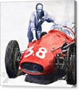 Ready For Racing Maserati 250 F Canvas Print
