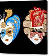 Ready For The Venice Carnival Canvas Print