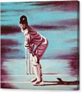 Ready To Bat Canvas Print