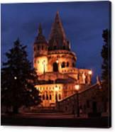 Real Life Minas Tirith Budapest Canvas Print