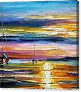 Real Sunset Canvas Print