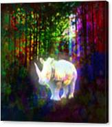 Real Unicorn Canvas Print