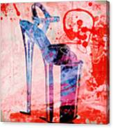Big Bad Stiletto  Canvas Print