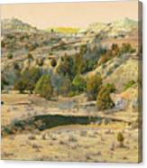 Realm Of Golden West Dakota Canvas Print