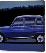 Renault 4 1961 Painting Canvas Print
