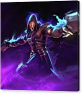 Reaper Overwatch Canvas Print