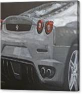 Rear Ferrari F430 Canvas Print