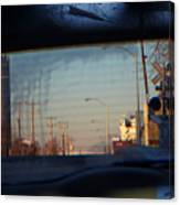 Rear View 2 - The Places I Have Been Canvas Print