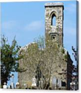 Rear View Fuerty Church And Cemetery Roscommon Ireland Canvas Print