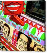 Rear View Mirror Of The Car-nola Canvas Print