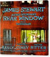 Rear Window, Grace Kelly, James Canvas Print