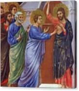 Reassuring Thomas Fragment 1311 Canvas Print
