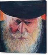 Rebbe Canvas Print