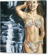 Rebecca Gayheart Canvas Print