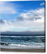 Receding Fog Seascape Canvas Print