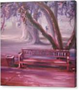 Receding Canvas Print