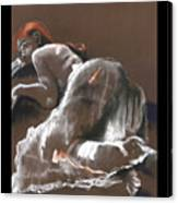 Reclining Figure With Skirt Canvas Print