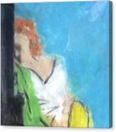Reclining Girl Canvas Print