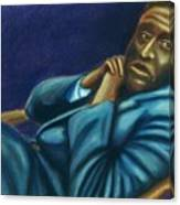 Reclining Man Canvas Print