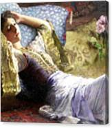 Reclining Odalisque Canvas Print