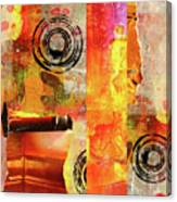 Reconstruction Abstract Canvas Print