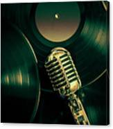 Recording Studio Art Canvas Print