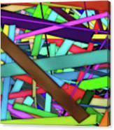 Rectangle Matrix 24 - Amcg20180305 40 X 27 Canvas Print