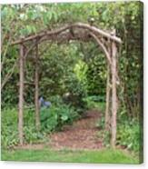 Recycled Arbor Canvas Print