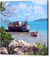 Recycled In Grenada Canvas Print