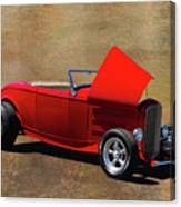 Red 1932 Ford Hot Rod  Canvas Print
