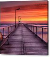 Mamaia's Gangway Canvas Print