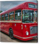 Red And White Rs 167 - Bristol Resl6l  #2 Canvas Print