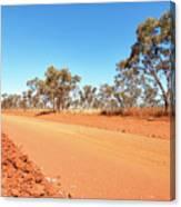 Red Australia Canvas Print