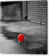 Red Balloon I Canvas Print