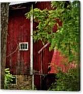 Red Barn 1 Canvas Print