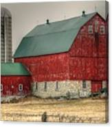 Red Barn11 Canvas Print